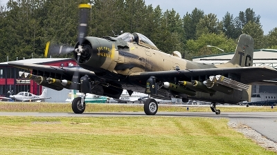 Photo ID 230323 by Aaron C. Rhodes. Private Heritage Flight Museum Douglas A 1D Skyraider AD 4N, NX965AD