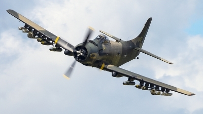 Photo ID 230325 by Aaron C. Rhodes. Private Heritage Flight Museum Douglas A 1D Skyraider AD 4N, NX965AD