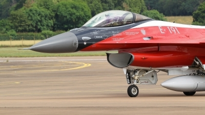 Photo ID 230348 by Barry Swann. Denmark Air Force General Dynamics F 16AM Fighting Falcon, E 191