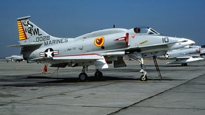 Photo ID 230370 by Gerrit Kok Collection. USA Marines McDonnell Douglas A 4M Skyhawk, 160028