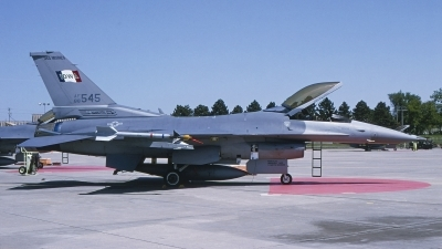 Photo ID 230399 by Gerrit Kok Collection. USA Air Force General Dynamics F 16C Fighting Falcon, 88 0545