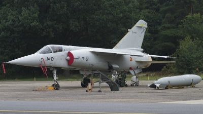 Photo ID 26224 by Johnny Cuppens. Spain Air Force Dassault Mirage F1M, C 14 20