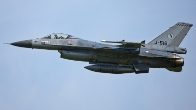 Photo ID 230465 by Rainer Mueller. Netherlands Air Force General Dynamics F 16AM Fighting Falcon, J 516