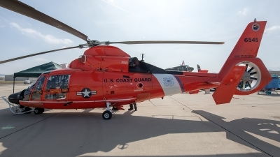 Photo ID 230500 by W.A.Kazior. USA Coast Guard Aerospatiale MH 65D Dolphin SA 366G 1, 6545