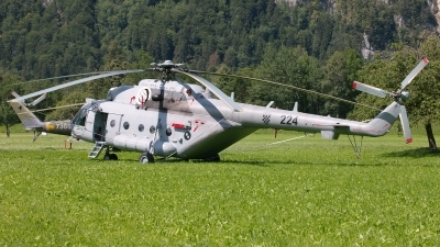 Photo ID 230502 by Sybille Petersen. Croatia Air Force Mil Mi 171Sh, 224