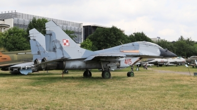 Photo ID 230532 by Milos Ruza. Poland Air Force Mikoyan Gurevich MiG 29GT 9 51, 4115