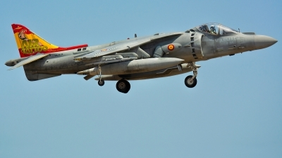 Photo ID 230571 by Jesus Peñas. Spain Navy McDonnell Douglas EAV 8B Harrier II, VA 1B 24