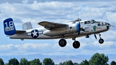 Photo ID 230568 by Gerald Howard. Private Commemorative Air Force North American B 25J Mitchell, N125AZ