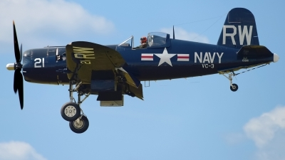 Photo ID 230650 by Rod Dermo. Private Commemorative Air Force Vought F 4U 5NL Corsair, N43RW