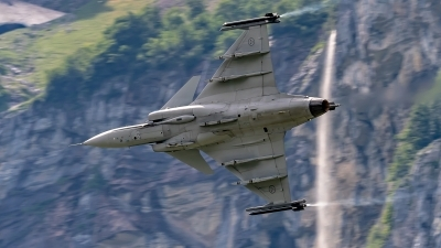 Photo ID 230675 by Martin Thoeni - Powerplanes. Sweden Air Force Saab JAS 39C Gripen, 39223