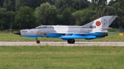 Photo ID 230683 by Milos Ruza. Romania Air Force Mikoyan Gurevich MiG 21MF 75 Lancer C, 6824