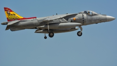 Photo ID 230687 by Jesus Peñas. Spain Navy McDonnell Douglas EAV 8B Harrier II, VA 1B 37