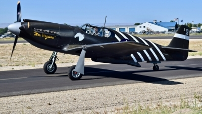 Photo ID 230724 by Gerald Howard. Private Planes of Fame Air Museum North American P 51A Mustang, NX4235Y