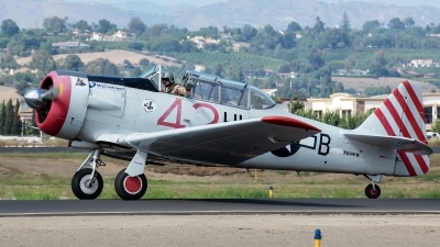 Photo ID 230728 by W.A.Kazior. Private Private North American SNJ 4 Texan, N86WW