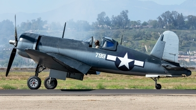 Photo ID 230791 by W.A.Kazior. Private Planes of Fame Air Museum Vought F4U 1A Corsair, NX83782