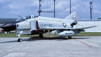 Photo ID 230963 by Gerrit Kok Collection. USA Air Force McDonnell Douglas F 4C Phantom II, 63 7576