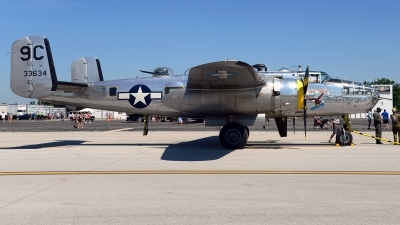 Photo ID 230830 by Rod Dermo. Private Yankee Air Force North American B 25D Mitchell, N3774