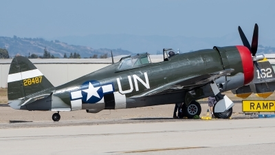 Photo ID 235344 by W.A.Kazior. Private Planes of Fame Air Museum Republic P 47G Thunderbolt, N3395G