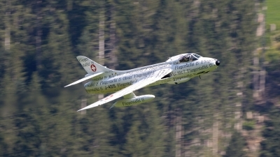 Photo ID 230921 by FEUILLIN Alexis. Private Hunterverein Obersimmental Hawker Hunter F58, HB RVS