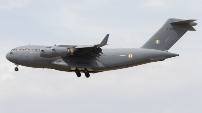 Photo ID 230938 by F. Javier Sánchez Gómez. India Air Force Boeing C 17A Globemaster III, CB 8005
