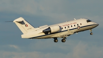 Photo ID 230939 by Lukas Kinneswenger. Australia Air Force Canadair CL 600 2B16 Challenger 604, A37 003