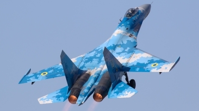 Photo ID 230940 by Walter Van Bel. Ukraine Air Force Sukhoi Su 27P1M,