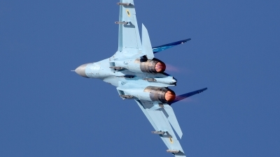 Photo ID 230941 by Walter Van Bel. Ukraine Air Force Sukhoi Su 27P1M,