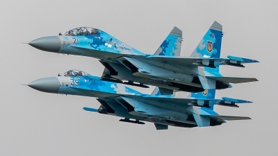 Photo ID 230967 by Rich Bedford - SRAviation. Ukraine Air Force Sukhoi Su 27UB1M, B 1831M1