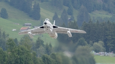Photo ID 230991 by FEUILLIN Alexis. Private Hunterverein Obersimmental Hawker Hunter F58, HB RVS