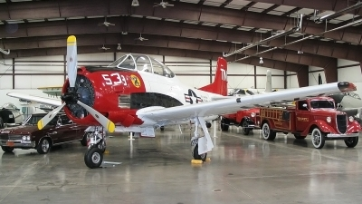 Photo ID 26357 by Tristan van der Vlugt. Private Planes of Fame Air Museum North American T 28C Trojan, N166ER