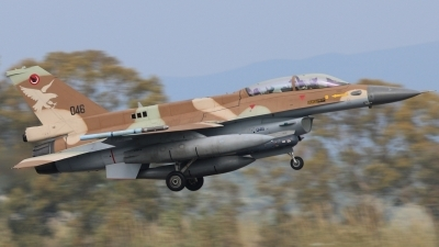 Photo ID 231187 by Stamatis Alipasalis. Israel Air Force General Dynamics F 16D Fighting Falcon, 046