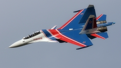 Photo ID 231102 by Tomas Medrik. Russia Air Force Sukhoi Su 30SM Flanker,