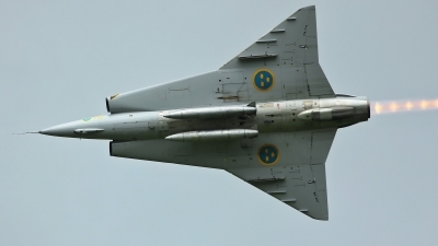 Photo ID 231121 by Sybille Petersen. Private Swedish Air Force Historic Flight Saab J35J Draken, SE DXR