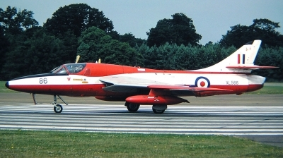 Photo ID 26314 by Arie van Groen. UK Air Force Hawker Hunter T7, XL566