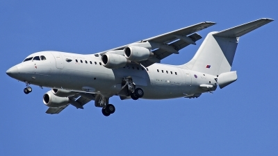 Photo ID 231275 by Fernando Sousa. UK Air Force British Aerospace BAe 146 C3 BAe 146 200QC, ZE708