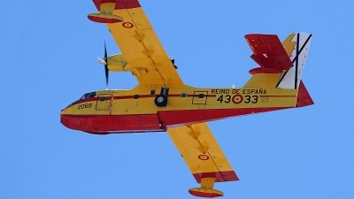Photo ID 231272 by Fernando Sousa. Spain Air Force Canadair CL 415, UD 14 03