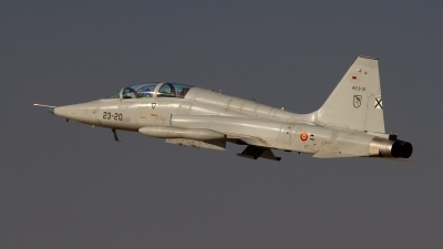 Photo ID 231282 by Filipe Barros. Spain Air Force Northrop SF 5M Freedom Fighter, AE 9 31