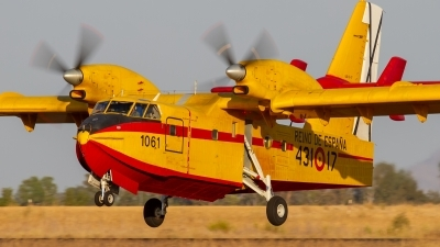 Photo ID 231271 by Filipe Barros. Spain Air Force Canadair CL 215T, UD 13 17