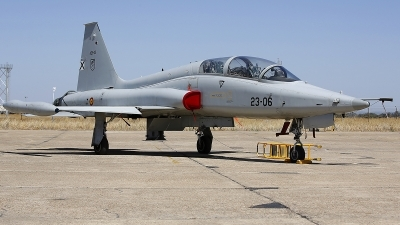 Photo ID 231353 by Fernando Sousa. Spain Air Force Northrop SF 5M Freedom Fighter, AE 9 12