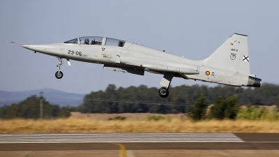 Photo ID 231381 by Fernando Sousa. Spain Air Force Northrop SF 5M Freedom Fighter, AE 9 12