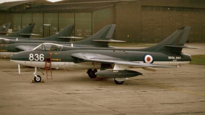 Photo ID 231361 by Alex Staruszkiewicz. UK Navy Hawker Hunter GAII, WV267