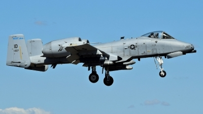 Photo ID 231389 by Gerald Howard. USA Air Force Fairchild A 10C Thunderbolt II, 78 0627