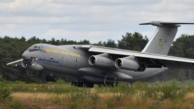 Photo ID 231392 by frank van de waardenburg. Ukraine Air Force Ilyushin IL 76MD, 76683