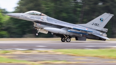 Photo ID 231401 by Ruben Galindo. Netherlands Air Force General Dynamics F 16AM Fighting Falcon, J 197
