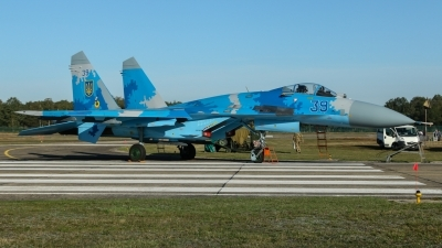 Photo ID 231423 by Rick van Engelen. Ukraine Air Force Sukhoi Su 27S, 39 BLUE