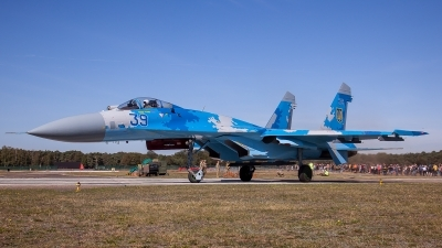 Photo ID 231485 by M. Hauswald. Ukraine Air Force Sukhoi Su 27S, 39 BLUE