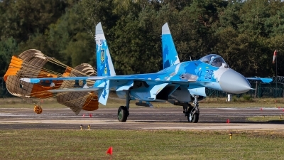 Photo ID 231486 by M. Hauswald. Ukraine Air Force Sukhoi Su 27S, 39 BLUE