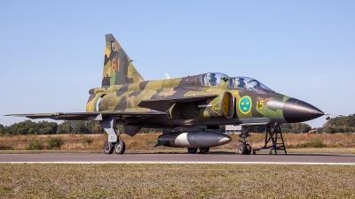 Photo ID 231743 by M. Hauswald. Private Swedish Air Force Historic Flight Saab Sk37E Viggen, SE DXO