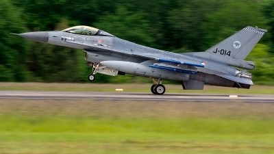 Photo ID 231462 by Jesus Peñas. Netherlands Air Force General Dynamics F 16AM Fighting Falcon, J 014