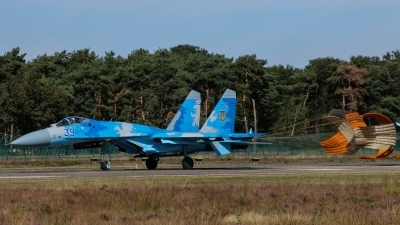 Photo ID 231530 by Rick van Engelen. Ukraine Air Force Sukhoi Su 27S, 39 BLUE